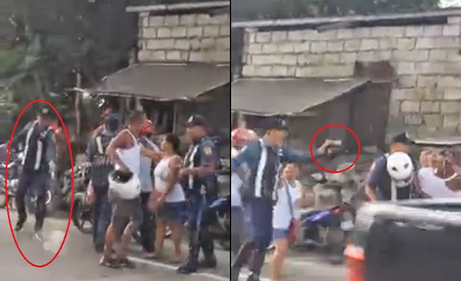Video of Police Who Fires Gun as Warning Shot to the Ground then Pointed to Civilian's Face Goes Viral