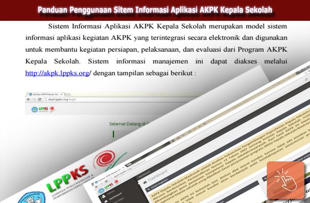 Panduan Penggunaan Sitem Informasi Aplikasi AKPK Kepala Sekolah