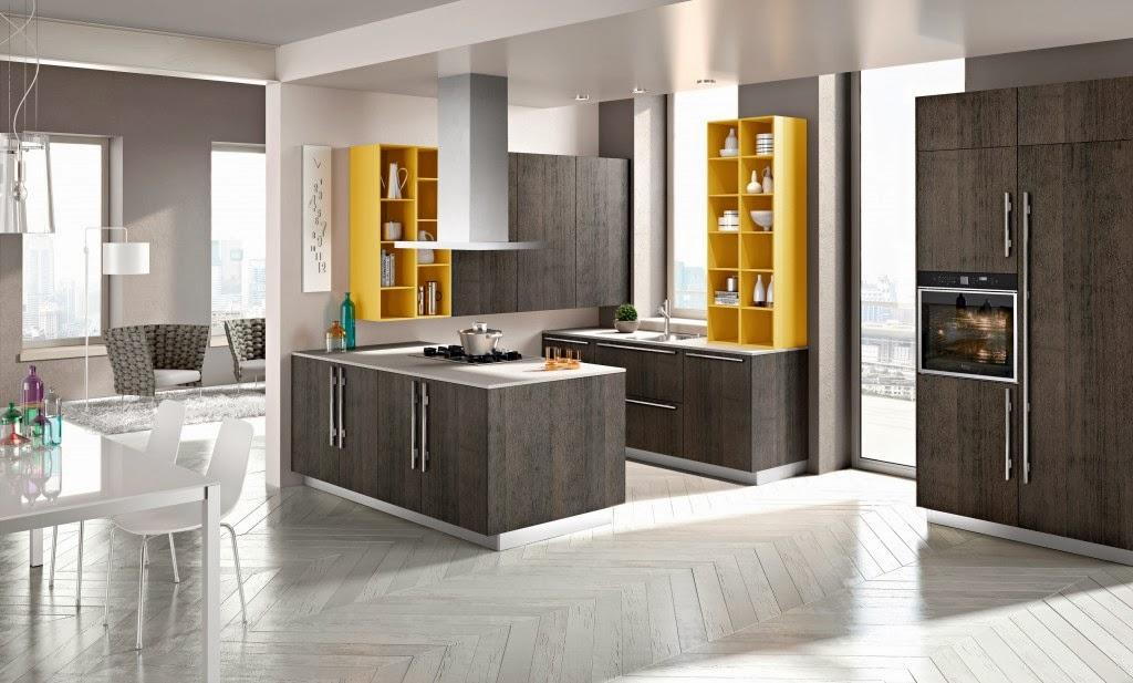 Cocinas de colores neutros colores en casa - Cocinas modernas colores ...
