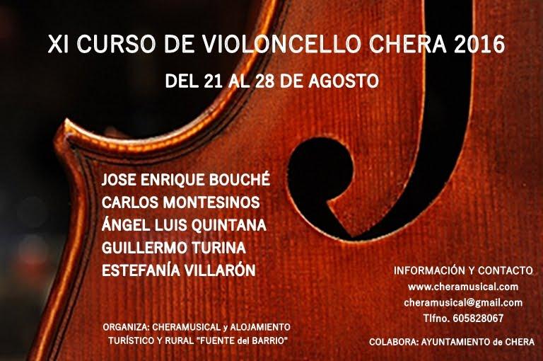 Cartel Curso Violoncello