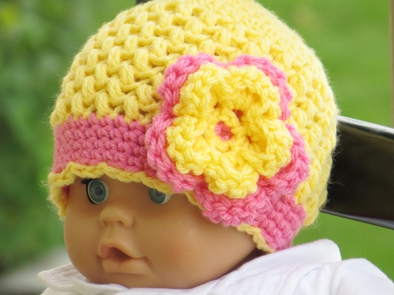 Crochet Flower Pattern For Hat : 1000+ ideas about Crochet Hats on Pinterest Beanie ...