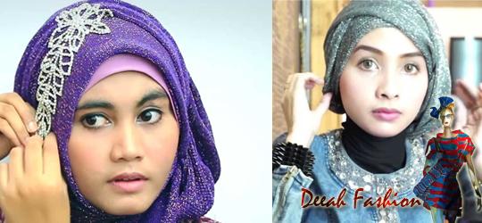 Jilbab Glitter Untuk Ke Pesta LuxLook