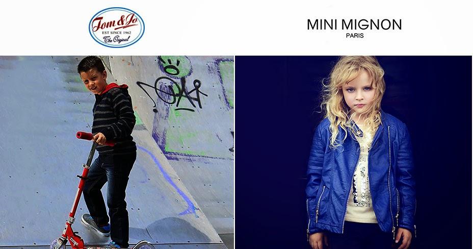 Oferta de octubre en moda niño y niña de Tom&Jo y Mini Mignon