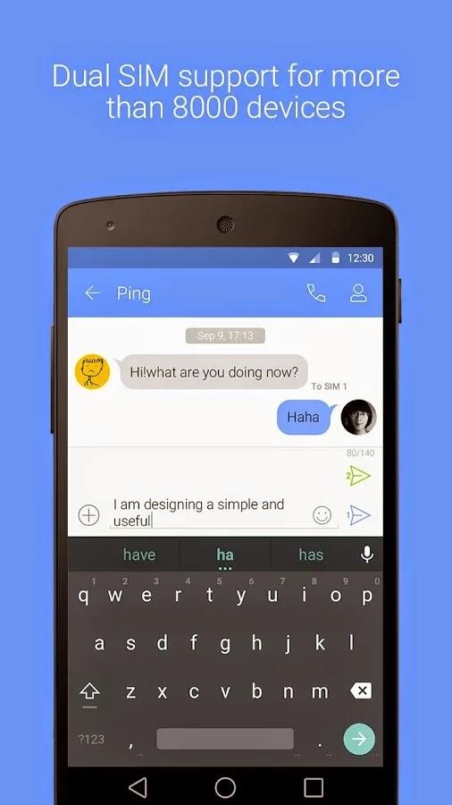 GO SMS Pro Premium v6.41 Apk