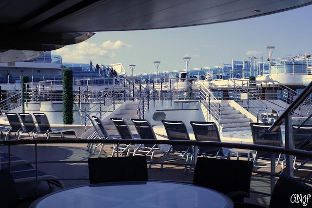 Pool deck aboard the Royal Princess ship | Anyonita-nibbles.co.uk