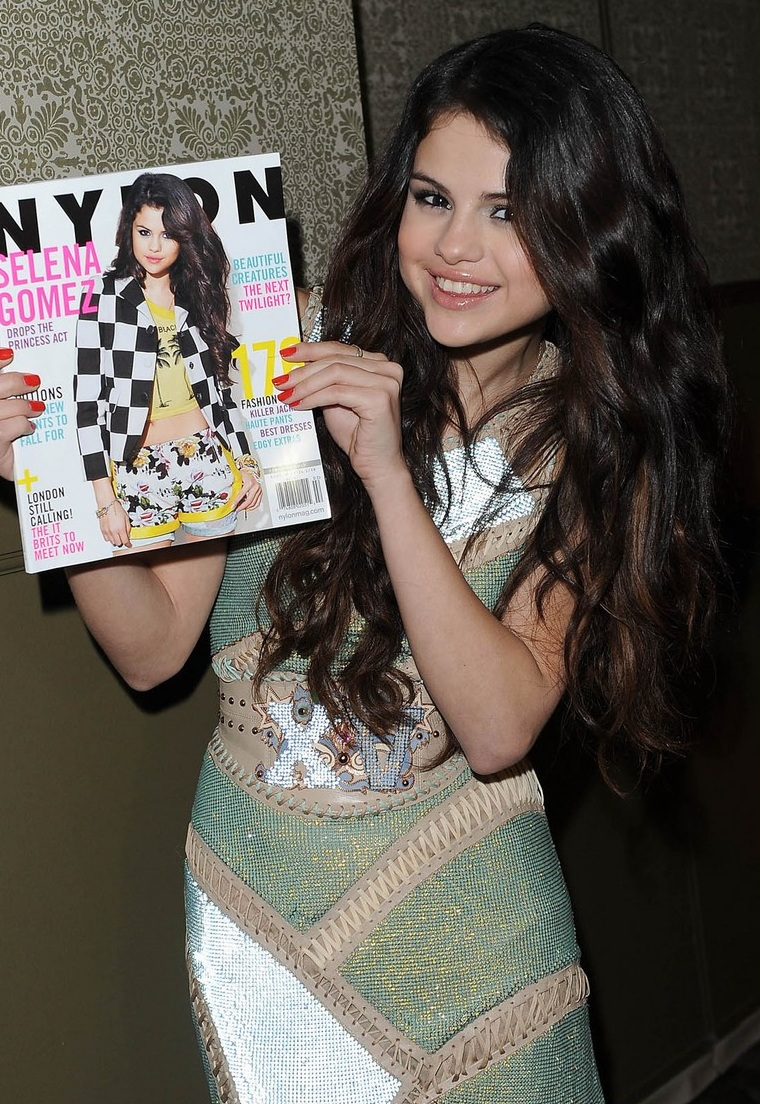 Selena Gomez - Nylon Cover Party 2013