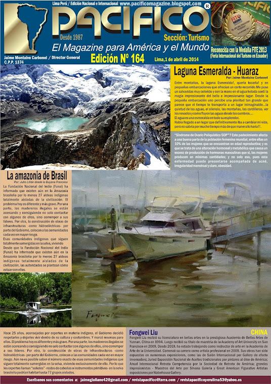 Revista Pacífico Nº 164 Turismo