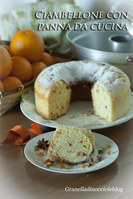Momenti di zucchero ciambellone con panna da cucina in pentola fornetto - Panna da cucina ...