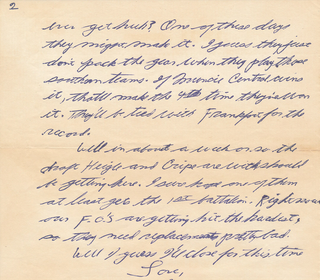 letter to soldier example