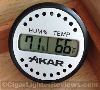 Xikar Digital Hygrometer 832XI