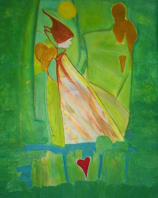 Akryl canvas vedic art