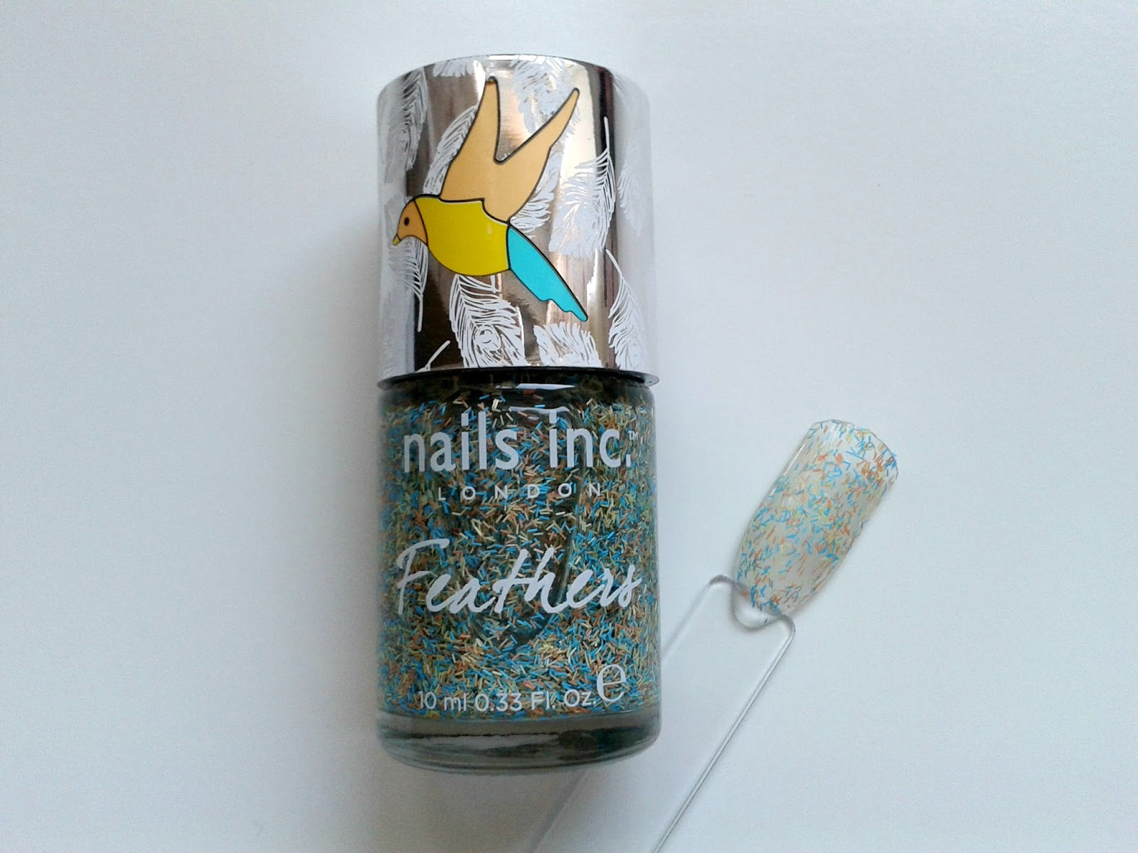 Nails Inc Nail Polish Diary: June Nails Inc Chester Feather Effect Polish Beauty Review Swatch