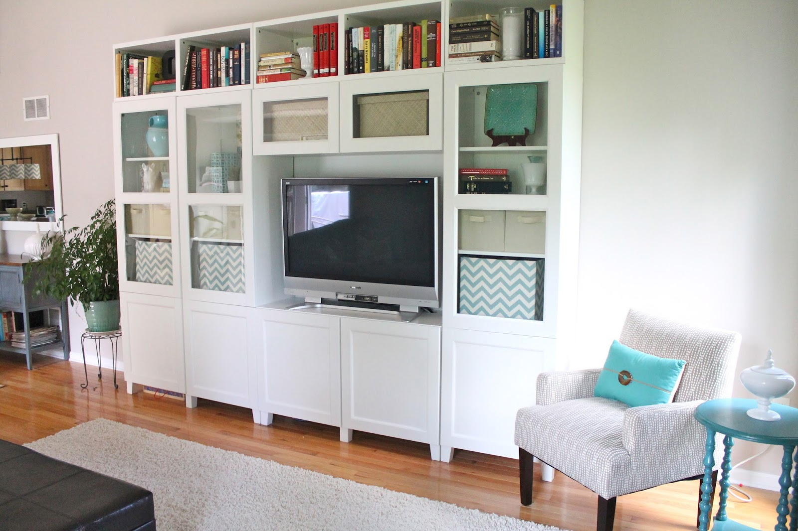 The new family room reveal for Besta fotos