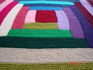 2013 Tığ işi bebek battaniye tarifi