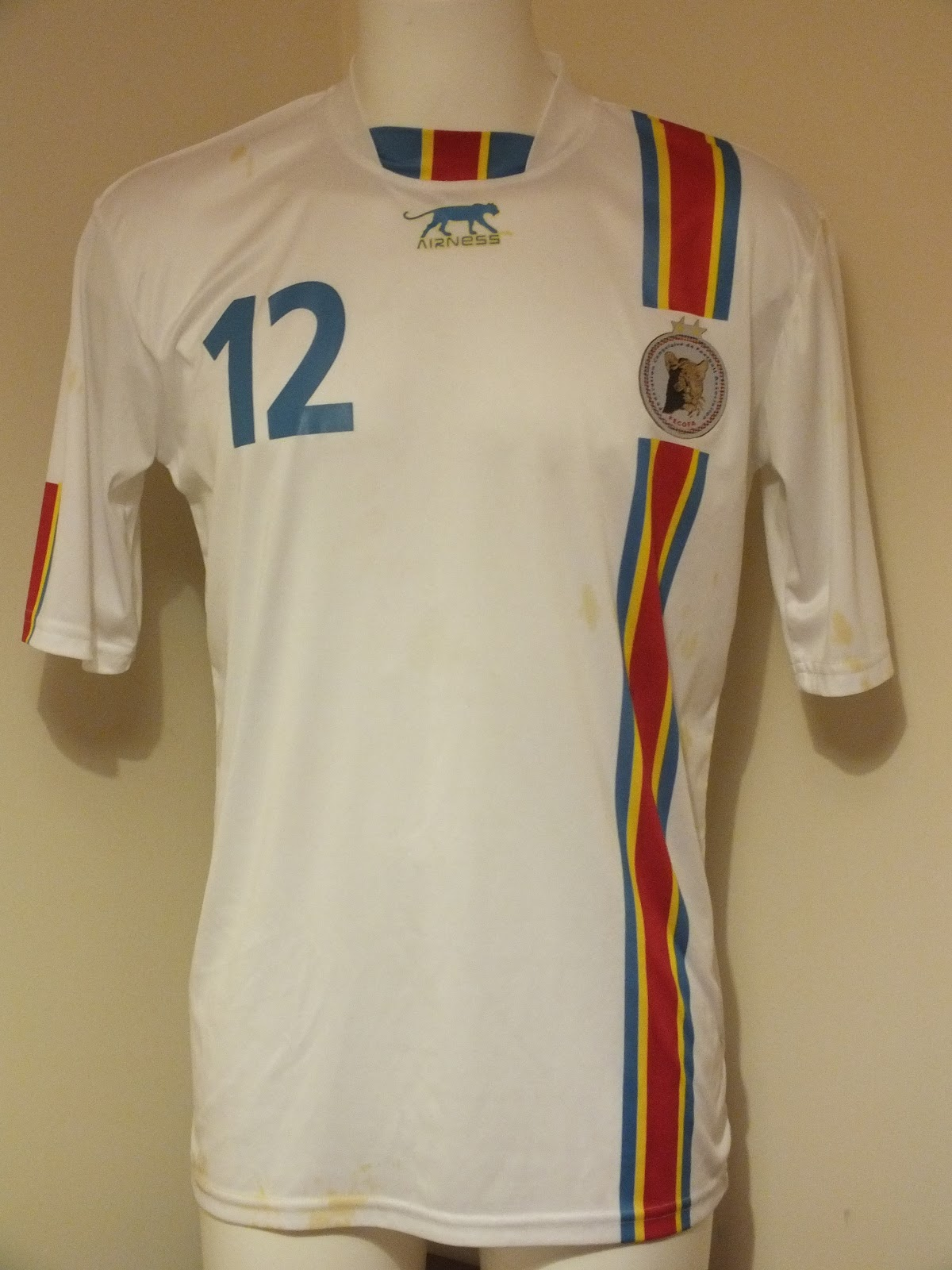 democratic republic of congo football shirt world