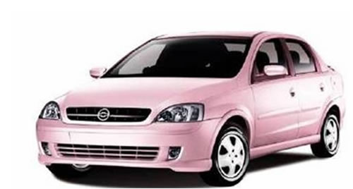 Carro rosa Mary Kay