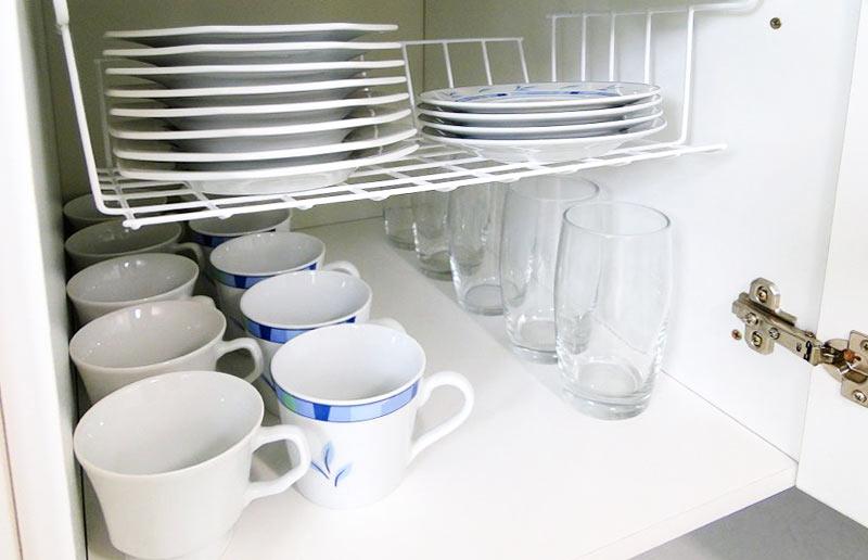 Organizando cada detalhe da cozinha