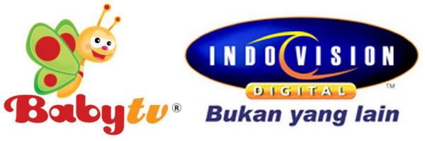 Daftar acara Baby TV di Indovision.