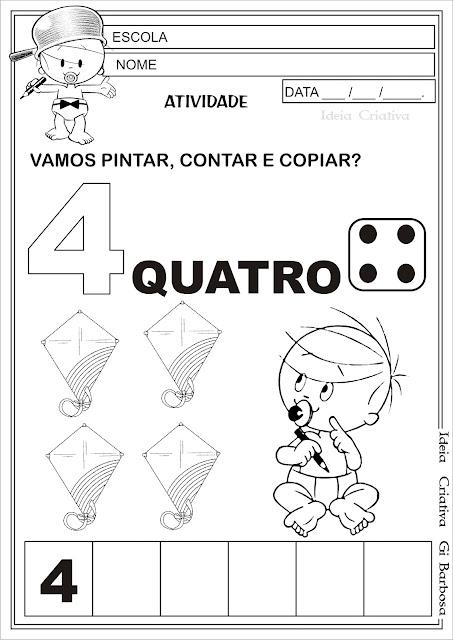 Atividades Bebê Maluquinho Educação Infantil