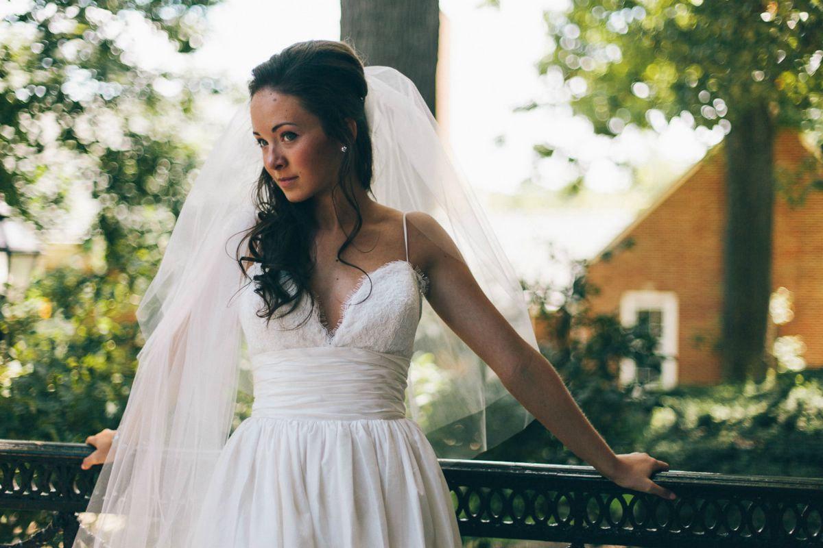 erin coleman amsale coco wedding dress replica