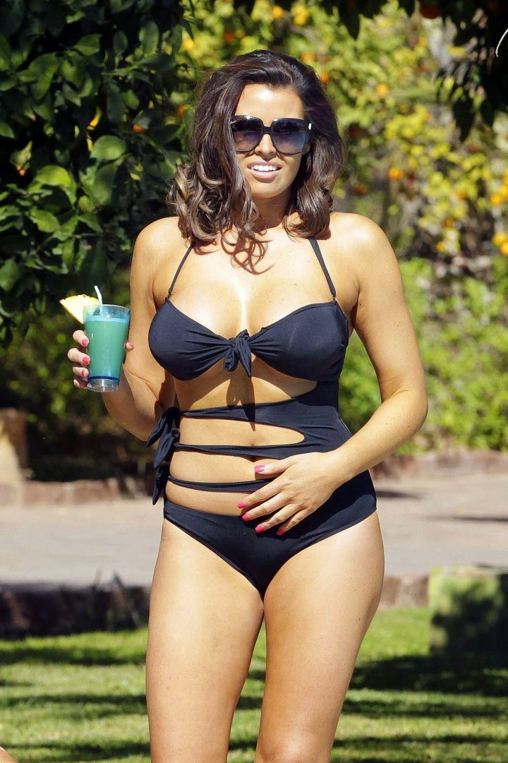 Jessica Wright Bikini Photos: 2014 in Marrakech