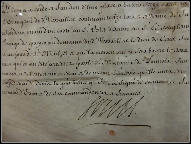 Signature Louis XIV