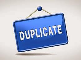 duplicate file