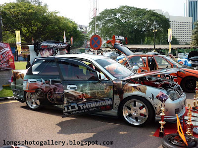 Waja modified autoshow
