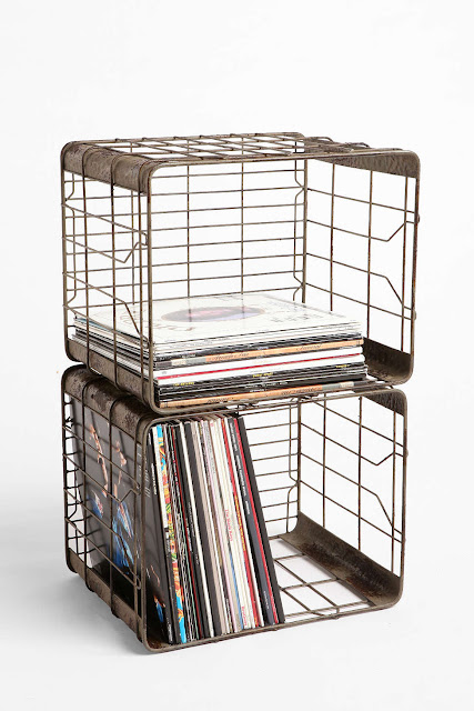 FIVE FRIDAY FINDS: Metal wall and storage organizers. - littlehouseoffour.com
