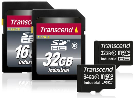Transcend Adds New 64GB microSD Memory Cards