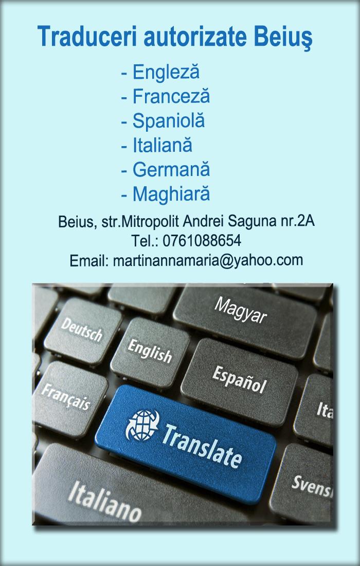 traduceri autorizate - Beius