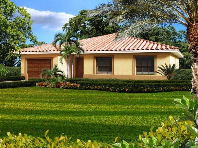 Modelos de casas dise os de casas y fachadas fotos for Estilos de jardines para casas