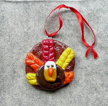 Salt Dough Turkeys