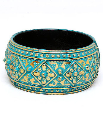 Fancy Chunky Trendy Bangle Bracelet Elegant Fashion Jewelry