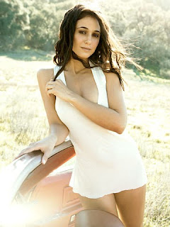 Emmanuelle Chriqui on  GQ magazine