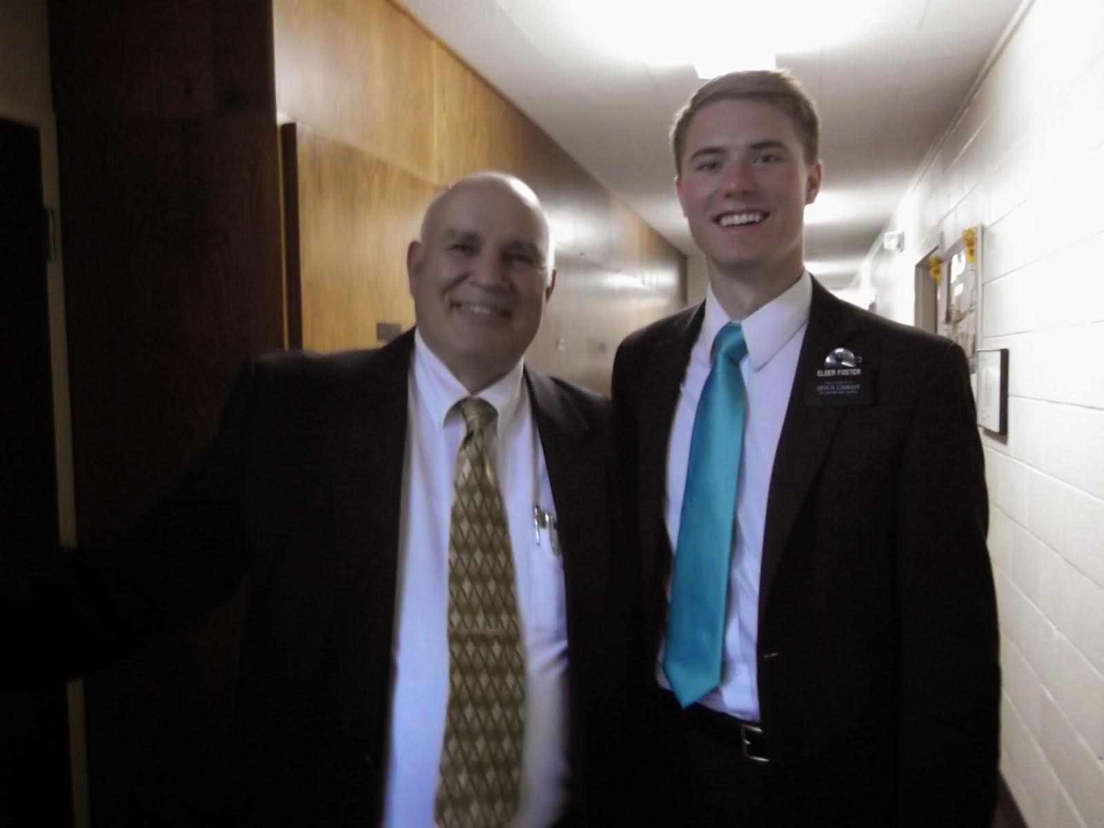 President Miller & Elder Foster