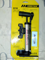 Pompa Sepeda United PM018 Beto Mini Hand & Floor Combo Pump