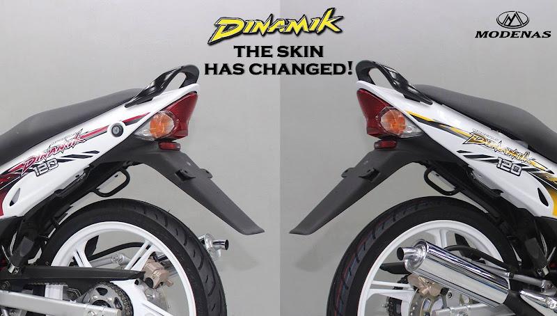 modifikasi atau pembaharuan pada enjin dua lejang itu. Pendek kata title=