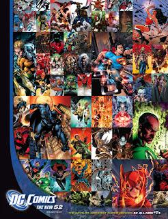 Cartaz de Os Novos 52, da DC Comics