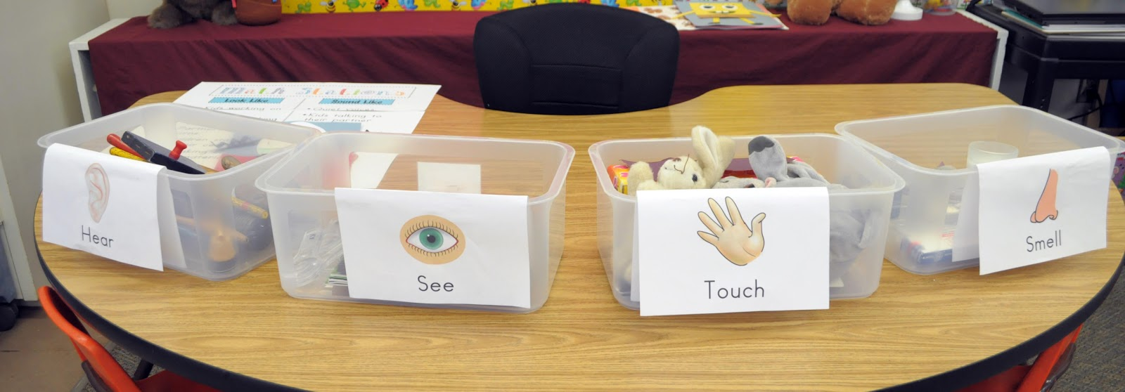 Five Senses Activity For First Grade - 4th grade science worksheets ...