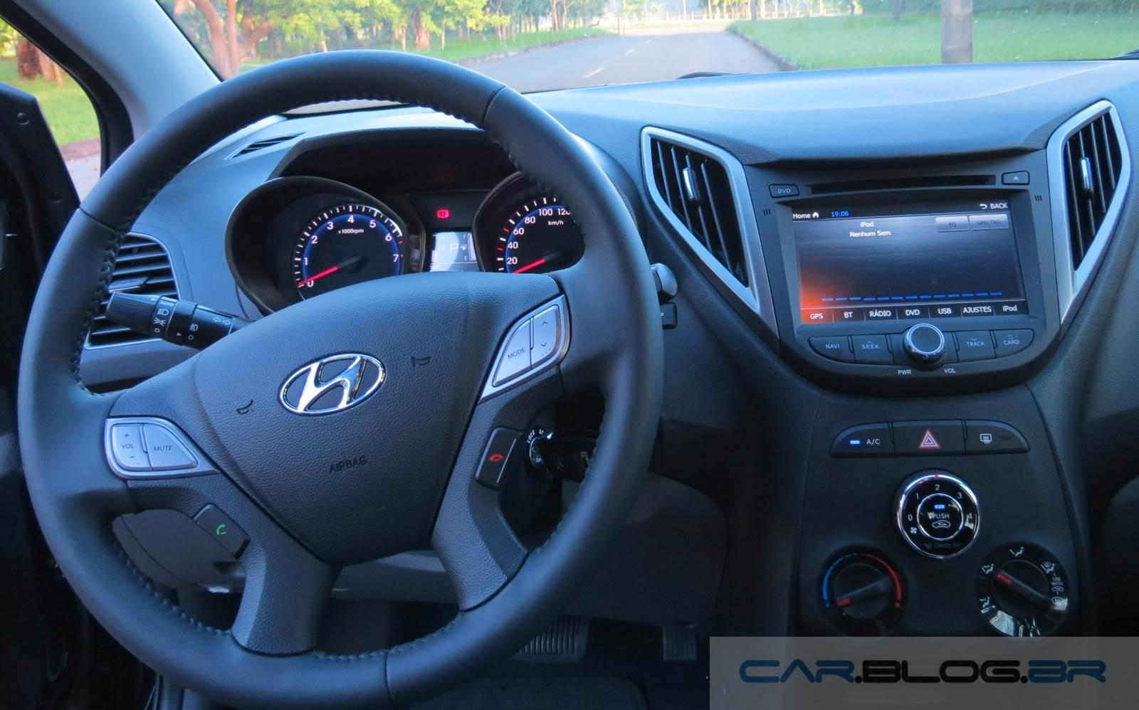 Hyundai HB20 1.6 Automático - interior - painel