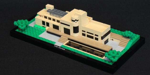 La Villa en Lego