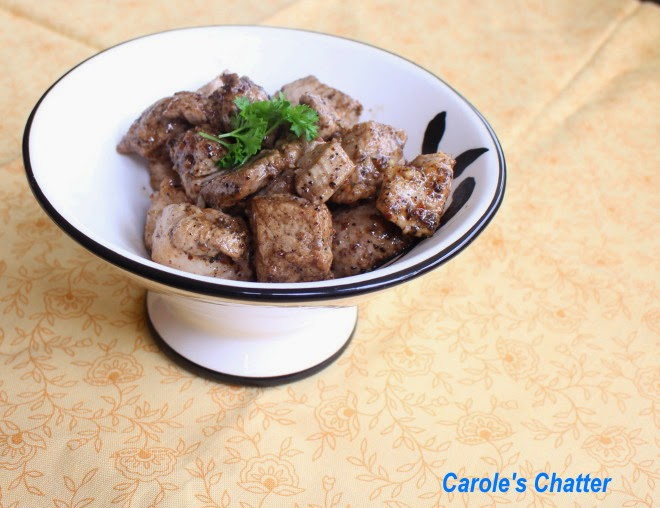 Carole's Chatter: Salt & Pepper Pork