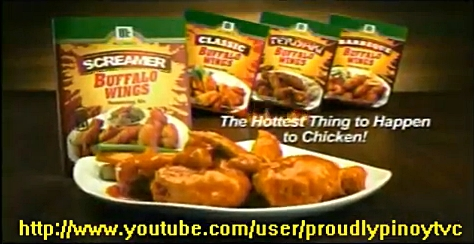 McCormick Buffalo Wings Seasoning Mix (Screamer Flavor) TV ad