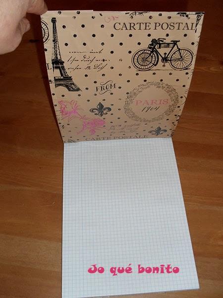 Tuneando un cuaderno