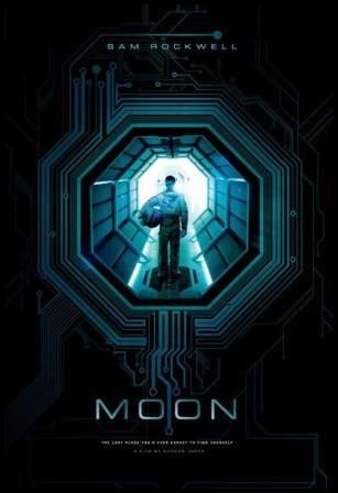 Póster de Moon (Duncan Jones, 2009)