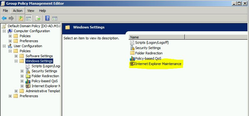 how to add trusted sites in group policy server 2012