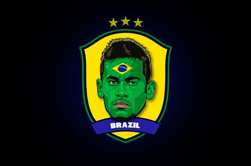Stars of Brazil 2014 by Rudi Gundersen — Neymar