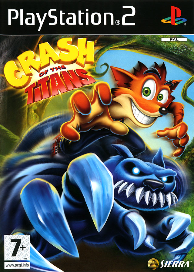 Crash of the Titans PS2 Classics