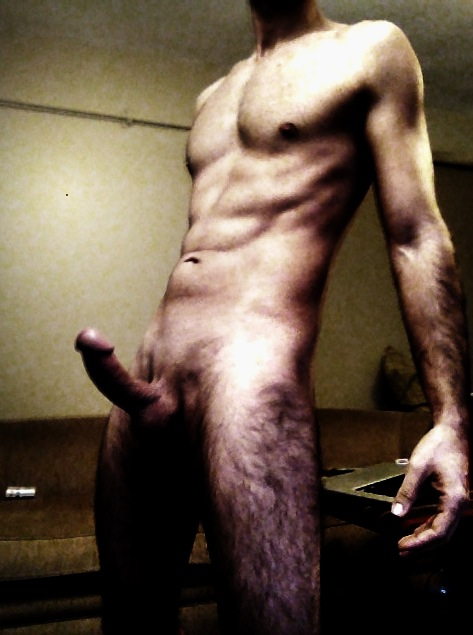 cute naked men big hard on
